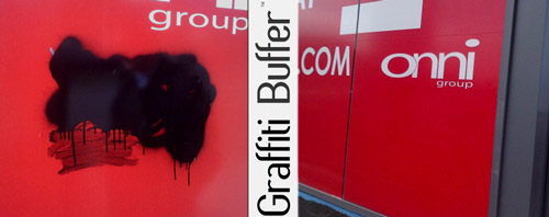 Graffiti Buffer - Graffiti Removal Specialists | Concrete and Brick Cleaning Using Specialty Cleaners and Pressure Washers